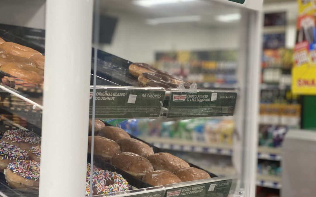 Country Corners now offering Krispy Kreme Doughnuts