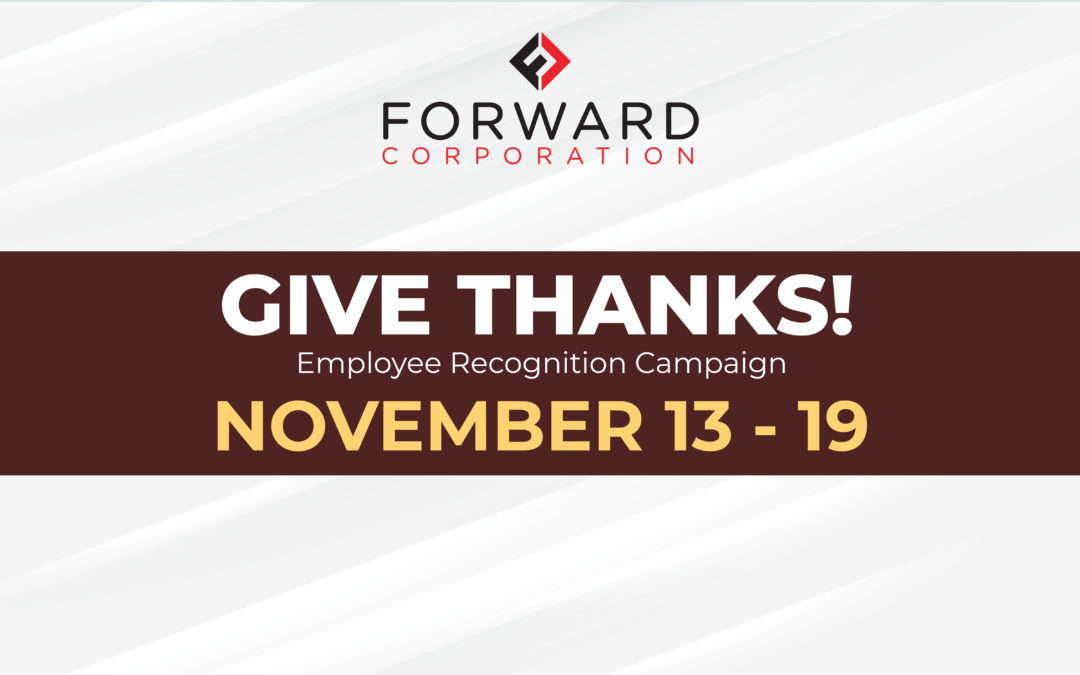 Forward Corp. announces employee recognition campaign
